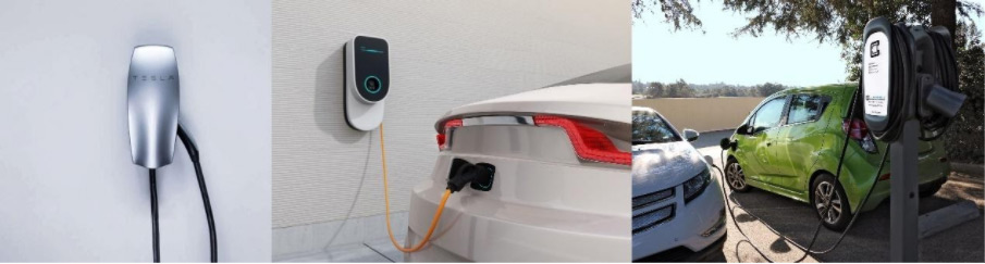 home and shared electric vehicle parking